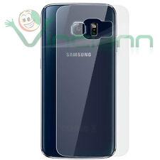 Pellicola protettiva posteriore TRASPARENTE pr Samsung Galaxy S6 Edge G925F back