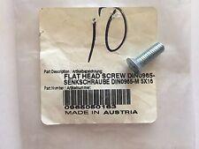 KTM OEM Flat Head Screw Din0965-M 5X16 0965050163