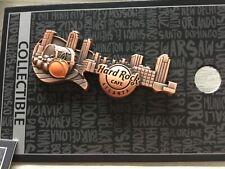 HARD ROCK CAFE ATLANTA 3D SKYLINE GUITAR PIN