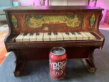 """Antique Ca.1900 """"Symphony"""" 12-key Toy Piano In Good Working Original Condition"""