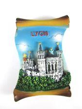 Lyon Poly Magnet Fridge Reise Souvenir France Frankreich,Neu,7 cm