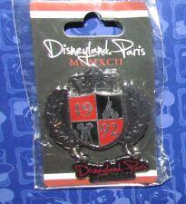 Disney  Pin PARIS DISNEYLAND PINS 1992 MICKEY ICON  CARDED