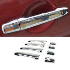 For Mitsubishi Lancer Evo Outlander Chrome Door Handle Cover Trim Molding Bezel