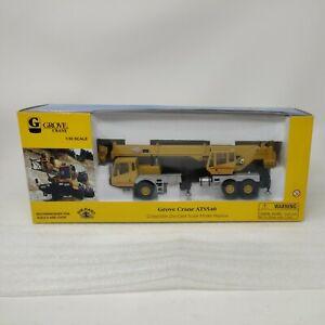Grove ATS540 3-Axle Truck Crane 1/50 Die-cast Model Norscot 30098 Yellow