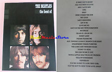 SPARTITO THE BEATLES The best of 1982 CARISCH LENNON MCCARTNEY cd mc dvd lp