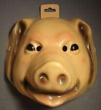 PIG FARM ANIMAL HALLOWEEN MASK PVC