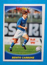 PANINI SUPERCALCIO 1995/96-Figurina/Sticker-n.137-CARBONE-NAPOLI-New