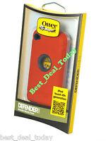 OEM Otterbox Rugged Defender Case For Apple Ipod 4 4G 4TH Gen Flash Orange Red