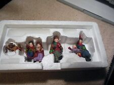 Dept 56 Cic 3pcs Central Park Carriage, Christmas At The Park, & One Man Band