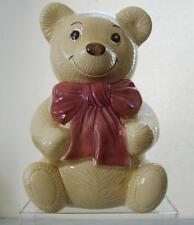 Metlox Pottery Poppy Trail Teddy Bear Cookie Jar
