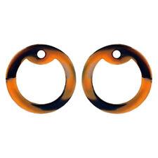 2 Orange Camo Dog Tag Silencers - Military GI Silencer - Tag-Z