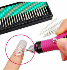 30 Nail Art Electric File Drill Bits Replacement Manicure Pedicure Kit Set Tool