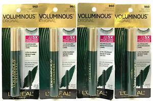 (4) Loreal Voluminous Original Mascara Sealed 960 - Deep Green
