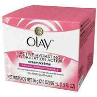 OLAY Active Hydrating Cream Original 2 oz (Pack of 2)
