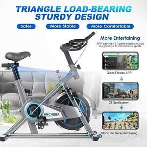 Speedbike Heimtrainer Ergometer Indoor Cycling Fahrrad Fitness 150kg Ergometer