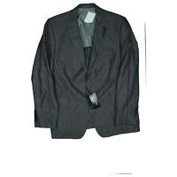 J. Philipp Herren Sakko Blazer Jacke Business Anzug Gr.58 XL Grau gestreift NEU
