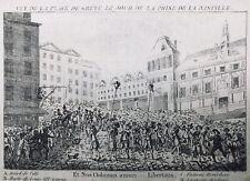 Presa Della Bastille Juillet 1789 Hotel Di Città Parigi Rivoluzione Francese