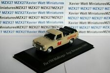 VOITURE Fiat 1500 Multicarga pick-up SALVAT Vehiculos Inolv. Servicios 1/43ème