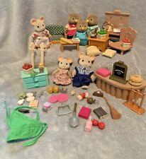 CALICO CRITTERS LIL WOODZEEZ  Furniture Owls Mice Accessories