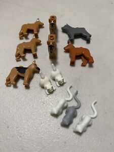 Lot of Lego Minifig Animals Cat/Kitten Mice Dogs Minifig Pets