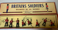 Britains Soldiers Regiments Of All Nations - The Somerset Light Infantry- No. 17