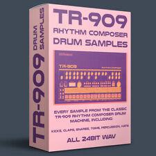 Roland Tr-909 Drum Machine Samples 24bit Wav