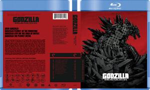 Godzilla Reiwa-era Collection - Custom Blu-ray Cover W/ Empty Case (No Discs)
