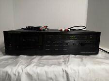 HARMAN KARDON TD102 Cassette Tape Deck - Ultrawide Linear Phase -works see notes