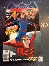 Action Comics #883 Vf 8.0 World Against Rucka Trautmann Perez Captain Atom