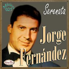 JORGE FERNÁNDEZ Mexico Collection CD #25/100 - MEXICAN Bolero Bambuco Canción
