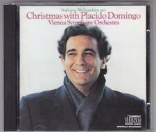 Christmas with Placido Domingo Giappone for Europe Issue-CD 1981-NO CODICE A BARRE!
