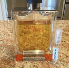 Hermes Terre D'Hermes Pure Parfum 10ml Glass Decant Sample