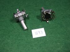 Pair of Alps EC16 Rotary Encoder w/Switch - New!