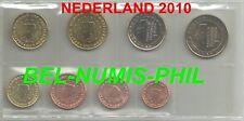 NEDERLAND 2010 - 8 Munten/Monnaies uit de rol - Koningin Beatrix - UNC!!!