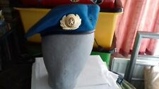 RUSSIAN ARMY AIRBORNE SPETSNAZ PARATROOPER VDV BERET & OFFICERS BADGE SIZE 59