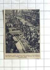 1936 Third Floor View Of Petticoat Lane Market, Christmas Shopping Crowds