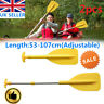 2pcs Adjustable Split Kayak Paddle Canoe Boat Dinghy Oar Aluminium Inflatable