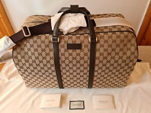 Gucci Holdall / Travel Bag - Large - Brand New - 100% Authentic