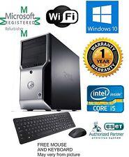 Dell Precision T1500 Computer i5 650 3.20ghz 16gb 2TB Windows 10 PRO 64 FX 580