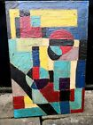 """Vintage oil on canvas """"in the manner of"""" Ben Nicholson - FREE SHIPPING USA & UK"""