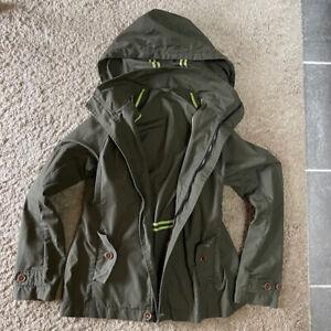Finisterre Women's Waterproof Waxed Jacket SIze 12