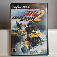 ATV Offroad Fury 2  ( Playstation 2 PS2  ) Tested