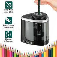 Automatic Electric Sharpener Desktop Pencil Sharpener Cutter School AU