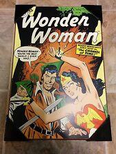 "** Wonder Woman Art Wall Plaque (Robin Hood DC Comic Print, 13"" x 19"") **"