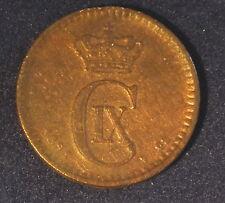 1891- DENMARK- 1 ORE-BETTER GRADE--#2