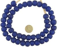 Glass GhanaTrade Beads African powder Krobo recycled translucent DIPO ceremony