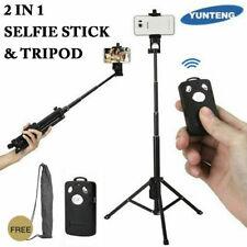 YUNTENG VCT-1688 2in1 Portable Mini Phone Selfie Stick Tabletop Tripod 90°Shoot