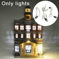 For LEGO 10224 DIY city hall LED lighting building block accessories U2S7