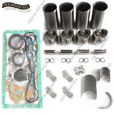 Mitsubishi S4SDT Engine Overhaul Rebuild Kit For Caterpillar Skid Steer Loader
