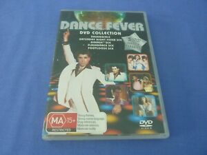 Dance Fever DVD Grease Flashdance Footloose Saturday Night Fever R4 TRACKED